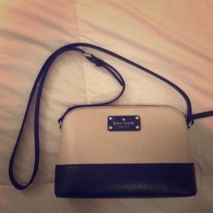 Kate Spade two tone crossbody purse